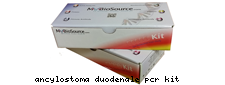 ancylostoma duodenale pcr kit