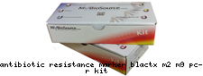 Antibiotic resistance marker blaCTX-M2/M9 pcr kit