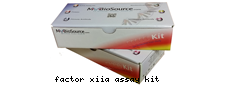 Factor XIIa assay kit